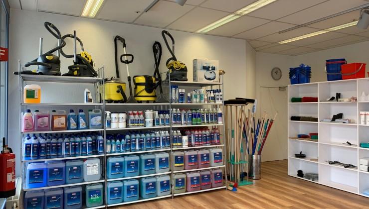 Unser Shop in den neuen Räumlichkeiten