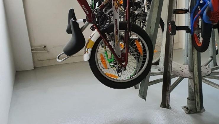 Malerarbeiten Fahrradkeller
